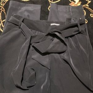 Express Black Ankle Pants